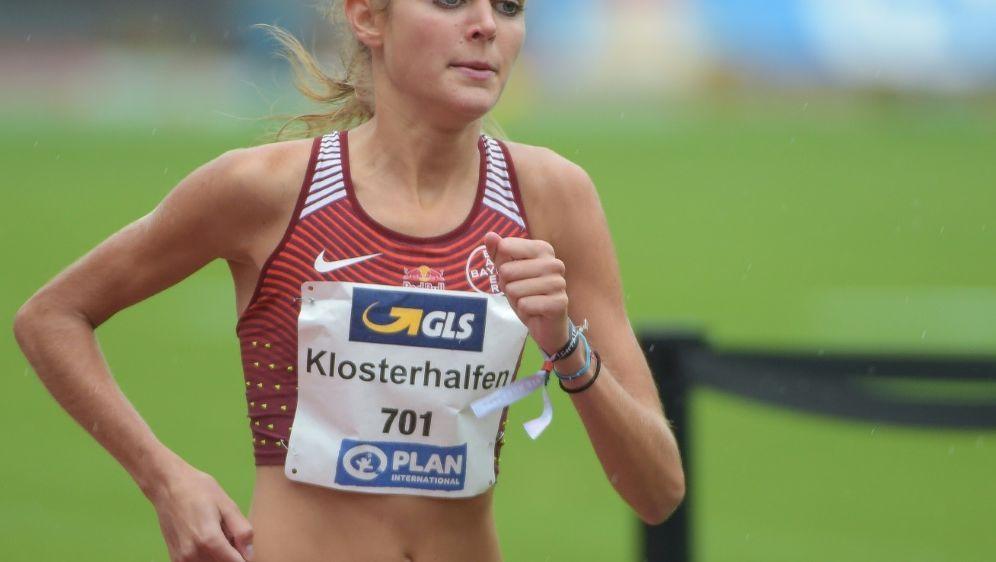 Konstanze Klosterhalfen lief in 4:19,98 Minuten ins Ziel - Bildquelle: PIXATHLONPIXATHLONSID