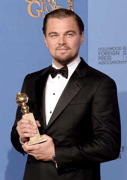 Golden-Globe-Leonardo-DiCaprio-14-01-12-getty-AFP - Bildquelle: getty-AFP