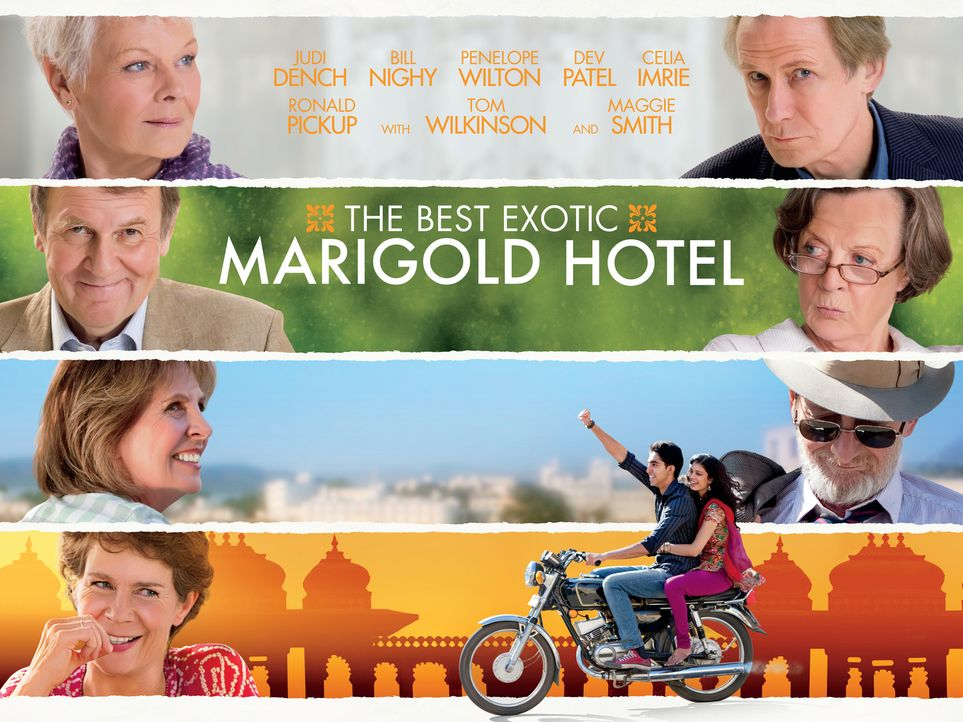 THE BEST EXOTIC MARIGOLD HOTEL - Plakatmotiv - Bildquelle: 2012 Twentieth Century Fox Film Corporation. All rights reserved.