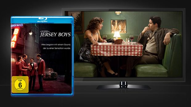 Jersey Boys Blu-ray und Szene © Warner Home Video
