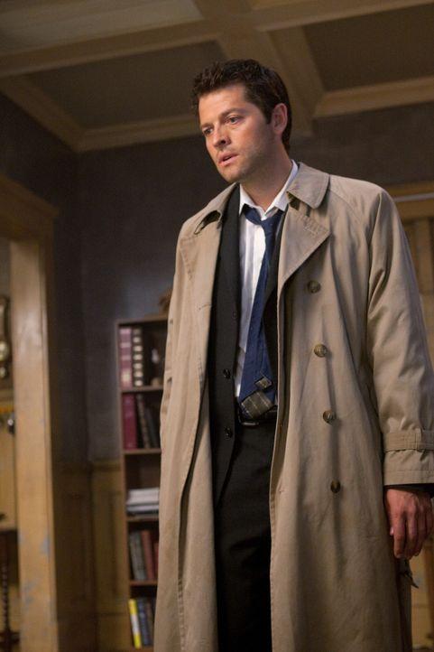 Als plötzlich Castiel (Misha Collins) auftaucht und Sam und Dean erklärt, dass er Jesse wegen seiner besonderen Gabe töten musste, sind die nicht... - Bildquelle: Warner Bros. Television