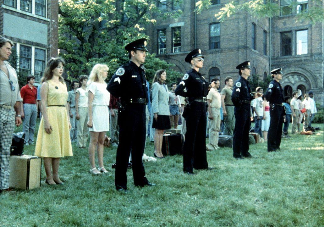 Ungewöhnlich: Die Neuankömmlinge der Police Academy ... - Bildquelle: Warner Bros.
