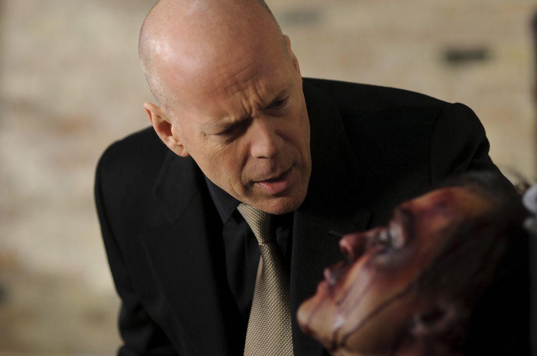 Sonnys Rachefeldzug wird verkompliziert, als er dabei Gangsterboss Biggs (Bruce Willis, l.) ins Gehege kommt und die eigentlichen Besitzer der Diama... - Bildquelle: Ascot Elite Home Entertainment GmbH