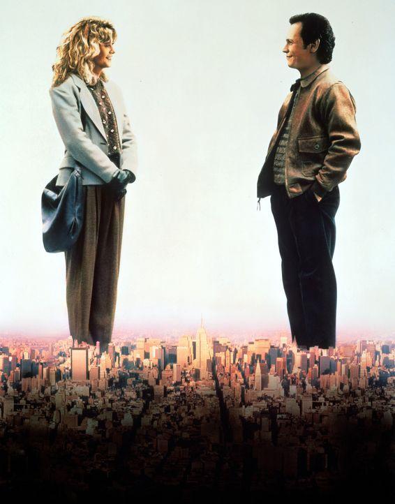 Können Männer und Frauen miteinander befreundet sein? Harry (Billy Crystal, r.) und Sally (Meg Ryan, l.) sind sich nicht einig ... - Bildquelle: Castle Rock Entertainment