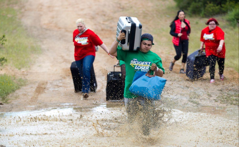 Stephano (M.) entpuppt sich schon in der ersten Challenge als Teamplayer ... - Bildquelle: Enrique Cano SAT.1
