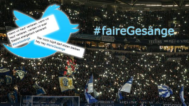 Twitter-Trend #faireGesänge