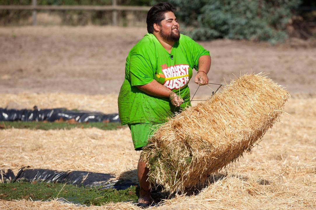 Shahin droht, an der herausforderndsten Challenge der Woche zu scheitern ... - Bildquelle: Enrique Cano SAT.1
