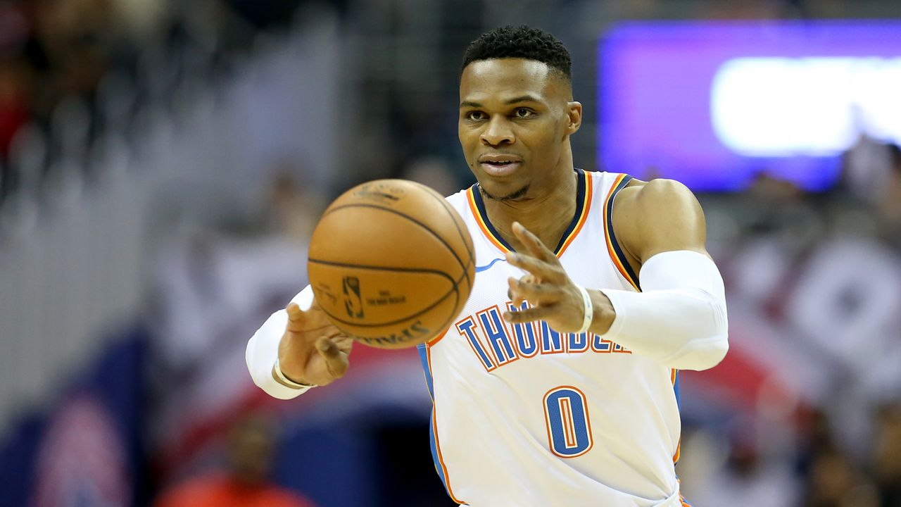 3. Russell Westbrook: 108 Triple Doubles - Bildquelle: 2018 Getty Images