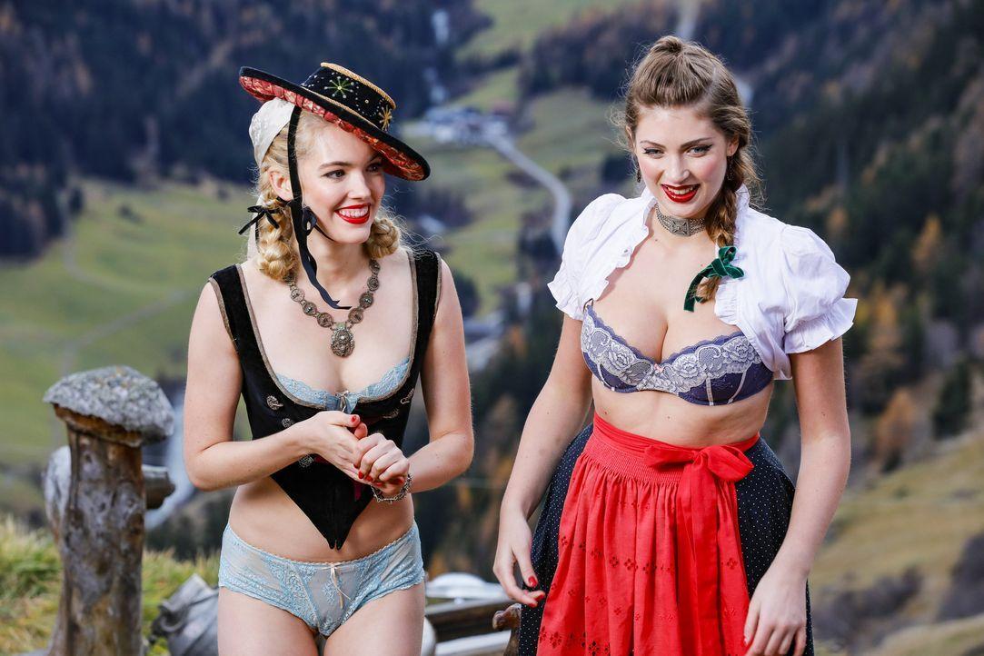 P7_GNTM_F3_1531172-Caroline-Julia - Bildquelle: ProSieben/Richard Hübner