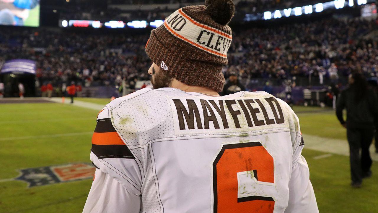Platz 7: Baker Mayfield (Cleveland Browns) - Bildquelle: 2018 Getty Images