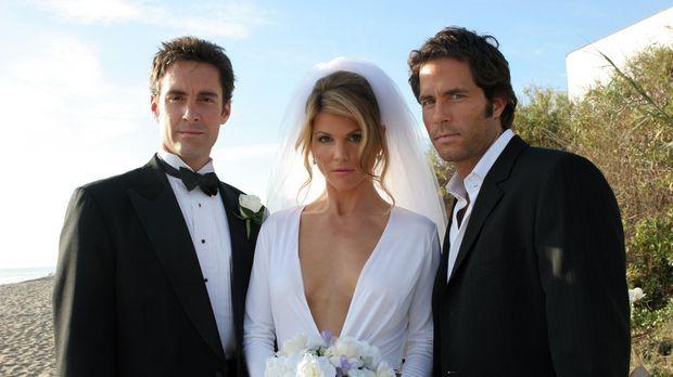 Wie wird sich Ava (Lori Loughlin, M.) bei diesen beiden attraktiven Männern (...
