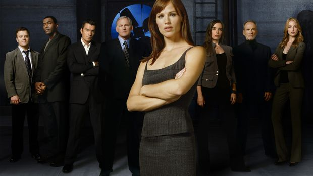 (5. Staffel) - Alias - Die Agentin: (v.l.n.r.) Marshall Flinkman (Kevin Weism...