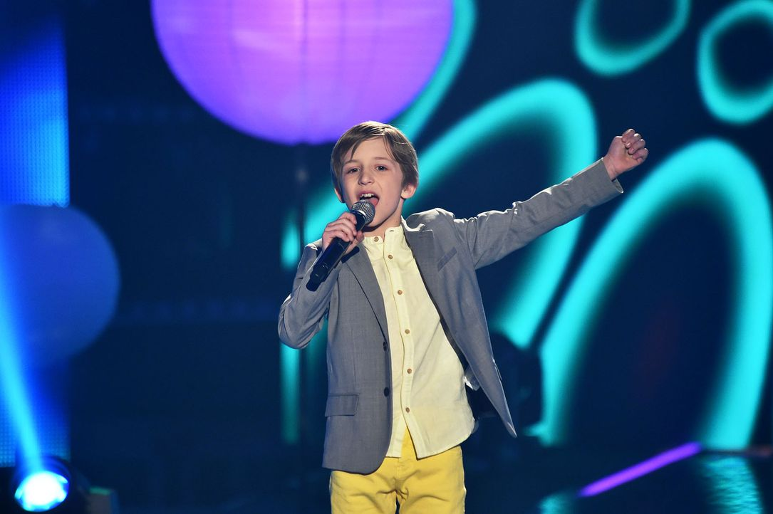 The-Voice-Kids-Stf03-Finale-Probe-73-Nestor-SAT1-Andre-Kowalski - Bildquelle: SAT.1/ Andre Kowalski
