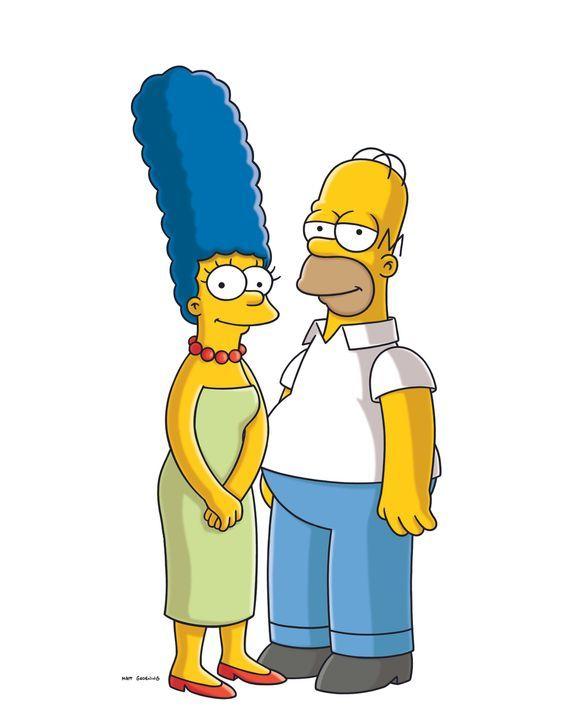 (21. Staffel) - Glücklich miteinander: Marge (l.) und Homer Simpson (r.) ... - Bildquelle: und TM Twentieth Century Fox Film Corporation - Alle Rechte vorbehalten