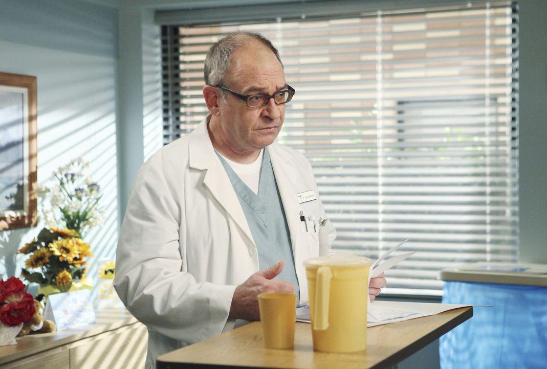 Hat keine gute Nachricht für Susan: Dr. Sugarman (David Brisbin) ... - Bildquelle: ABC Studios