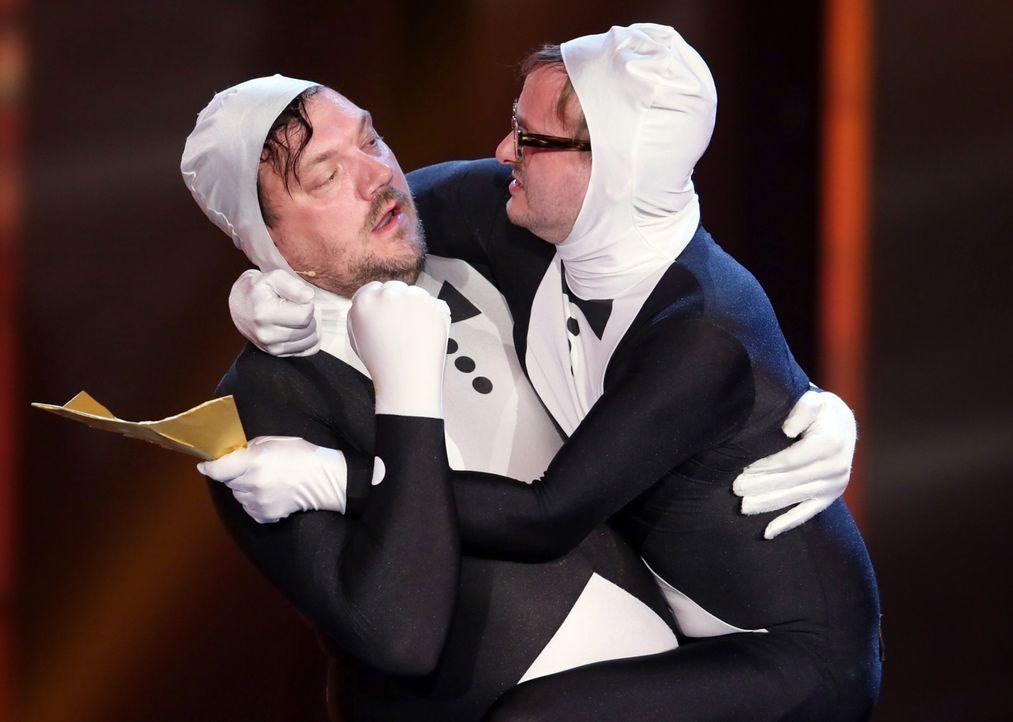 Deutscher-Filmpreis-Lola-Charly-Huebner-Milan-Peschel-140509-dpa - Bildquelle: dpa