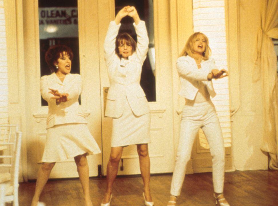 'Rache ist süß!' Brenda (Bette Midler, l.), Elise (Goldie Hawn, r.) und Annie (Diane Keaton, M.)  beschließen, ihre treulosen Männer gesellschaftlic... - Bildquelle: Paramount Pictures