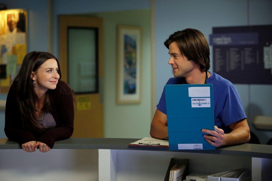 Wie geht es mit Amelia (Caterina Scorsone, l.) und James (Matt Long, r.) weiter? - Bildquelle: ABC Studios