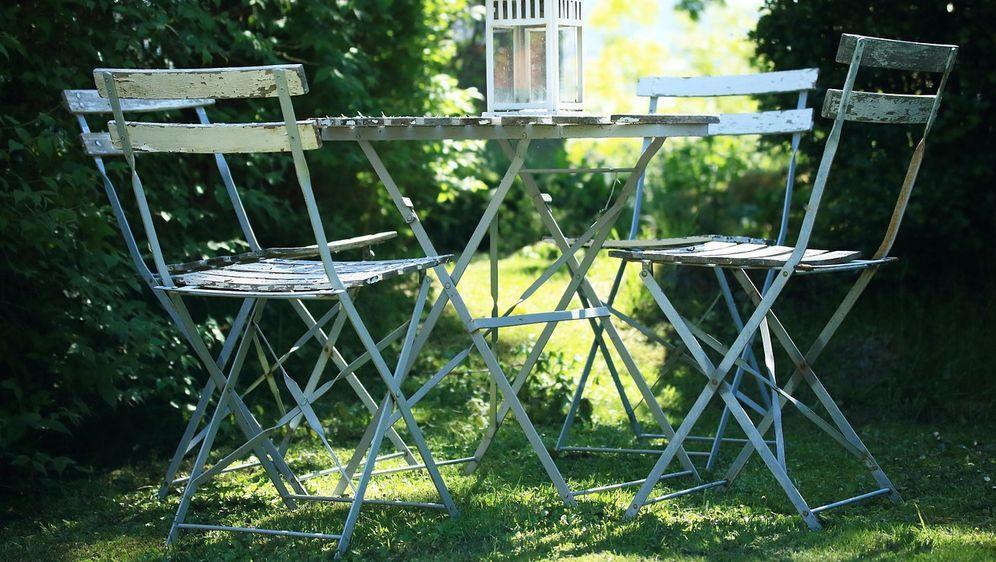 Wie Sehen Rustikale Gartenmöbel Aus?
