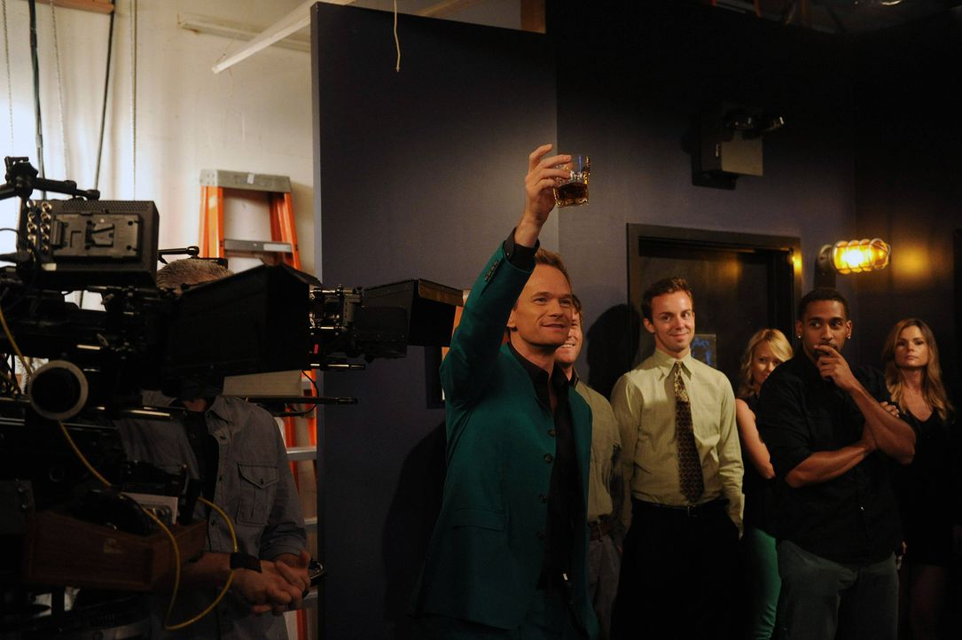 HIMYM- Behind the scenes- How Your Mother Met - Bildquelle:  CBS Broadcasting, Inc. All rights reserved