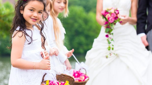 Blumenkinder Fur Die Hochzeit Traditionelle Aufgaben Sat 1
