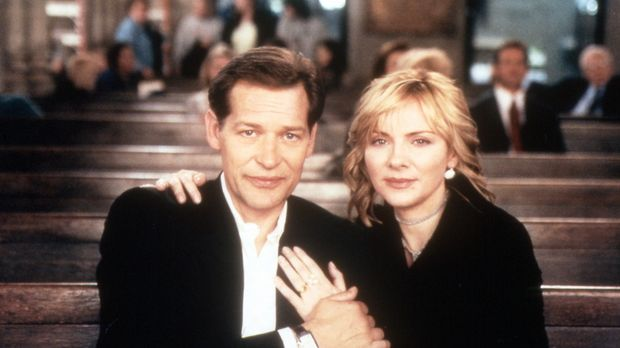 Samantha (Kim Cattrall) and Richard (James Remar) © Paramount Pictures