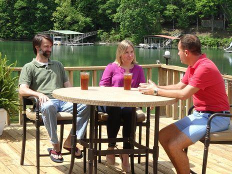 Nicht nur für die Reichen - Am Lewis Smith Lake, Alabama, probiert Immobilien...