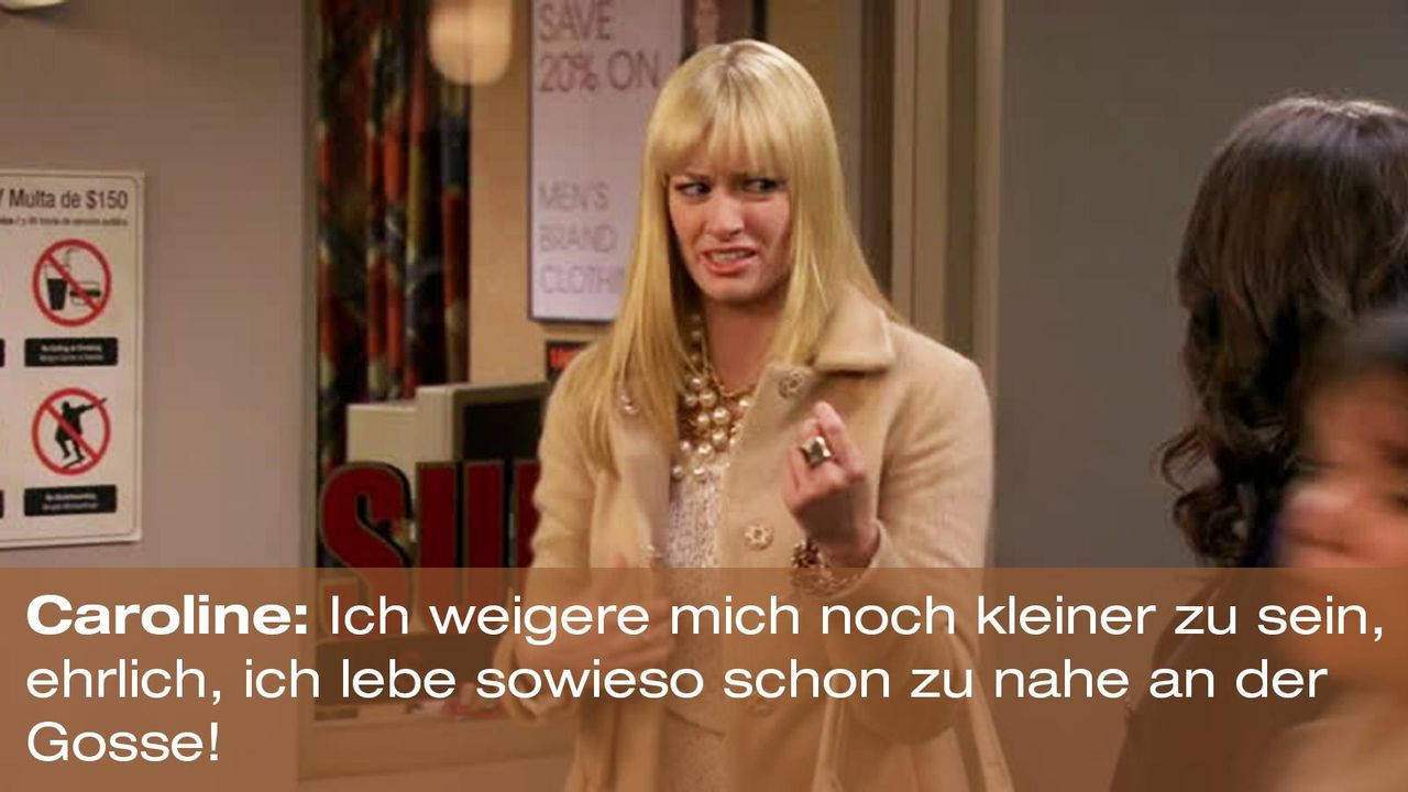 2-broke-girls-zitat-quote-staffel2-episode5-darius-lachexpress-caroline-gosse-warnerpng 1600 x 900 - Bildquelle: Warner Brothers Entertainment Inc.