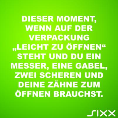 Visual Statements: Leicht zu öffnen - Bildquelle: sixx