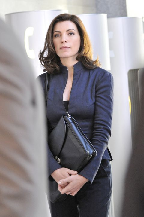 Arbeitet an einem äußerst verzwicken Fall: Alicia (Julianna Margulies) ... - Bildquelle: CBS Studios Inc. All Rights Reserved.