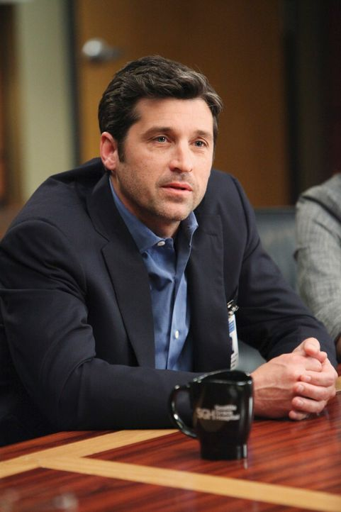 Derek (Patrick Dempsey) sieht sich mit dem Ehemann einer früheren Patientin konfrontiert ... - Bildquelle: Touchstone Television