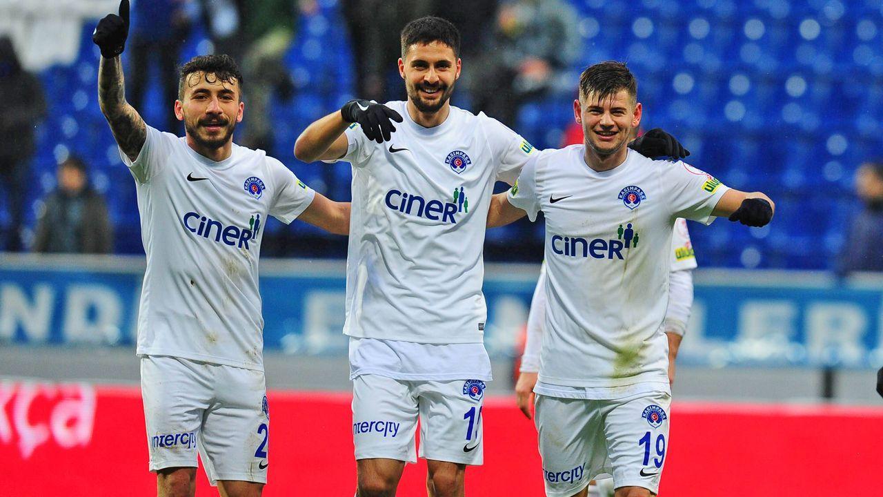 Platz 10: Kasimpasa (Süper Lig/Türkei) - Bildquelle: imago/Seskim Photo