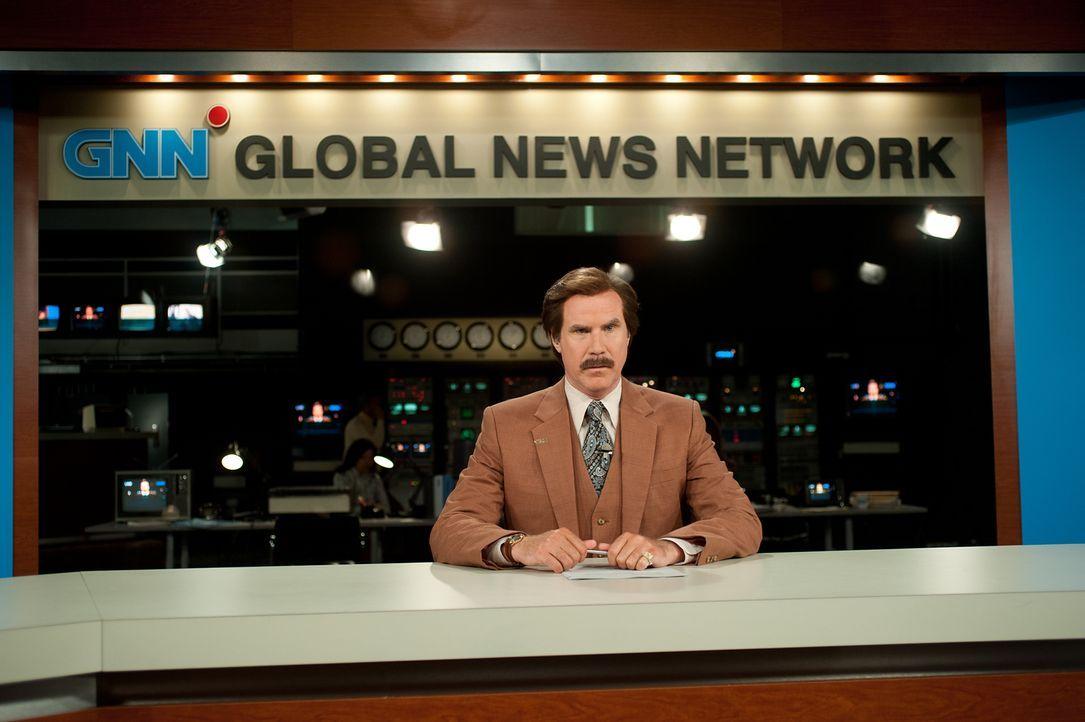 Ron Burgundy (Will Ferrell) ist zurück in den TV-Nachrichten. Beim Sender GNN ist er Teil einer Familie, die zum ersten Mal in Amerika 24 Stunden am... - Bildquelle: Gemma Lamana MMXIII Paramount Pictures Corporation.  All Rights Reserved.