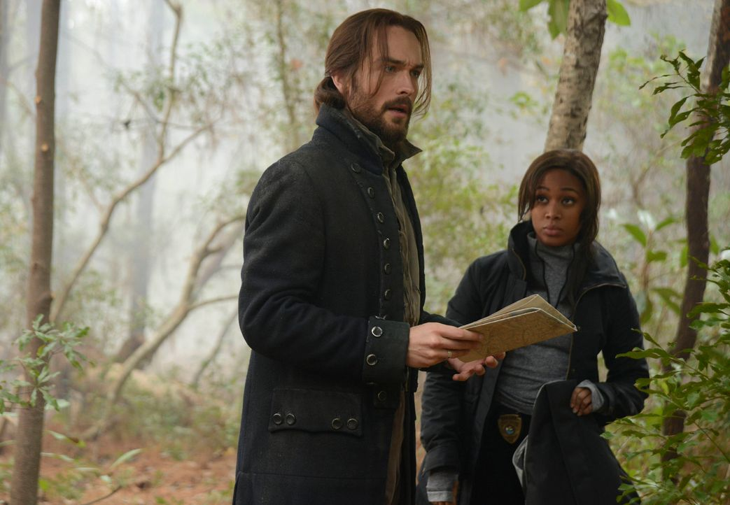 Entdecken ein Geheimnis, was die schockierende Wahrheit über den Tod des Gründungsvaters der Vereinigten Staaten von Amerika enthüllt: Ichabod Crane... - Bildquelle: 2014 Twentieth Century Fox Film Corporation. All rights reserved.
