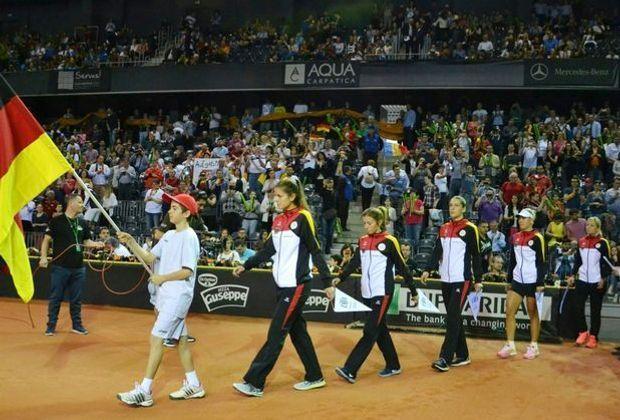 Das deutsche Fed-Cup Team trifft auf die Ukraine