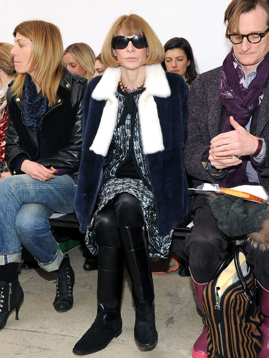 NewYork-Fashionweek-Anna-Wintour-13-02-10-AFP - Bildquelle: Craig Barritt/Getty Images/AFP