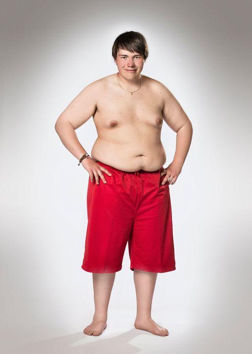 """Möchte bei """"The Biggest Loser - Teens"""" durchstarten in ein neues leichteres Leben: Patrick - Bildquelle: Morris MacMatzen SAT.1"""