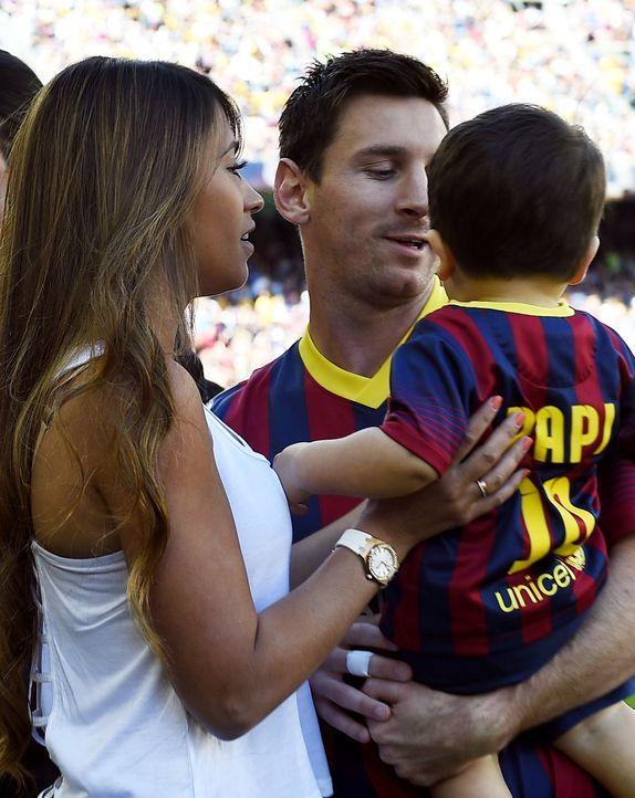 Lionel-Messi-Antonella-Roccuzzo-140503-AFP - Bildquelle: AFP