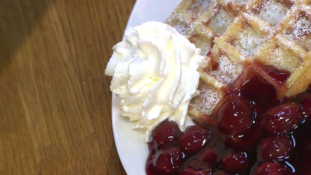 Bergische Waffeln traditionell