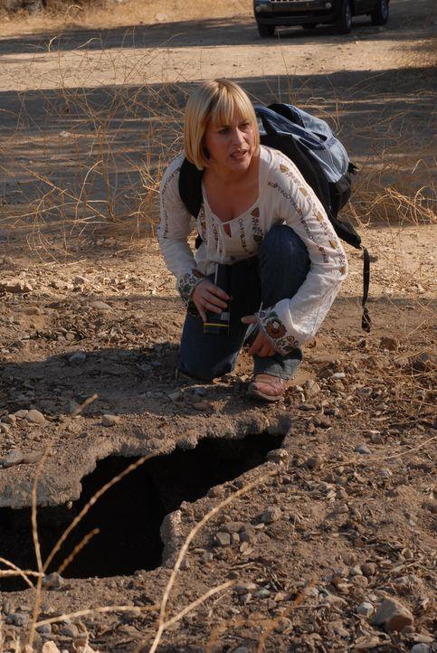 Mitten in der Wüste von Arizona vermutet Allison (Patricia Arquette) die Überreste des vor 15 Jahren verunglückten Jimmy Nessler ... - Bildquelle: Paramount Network Television