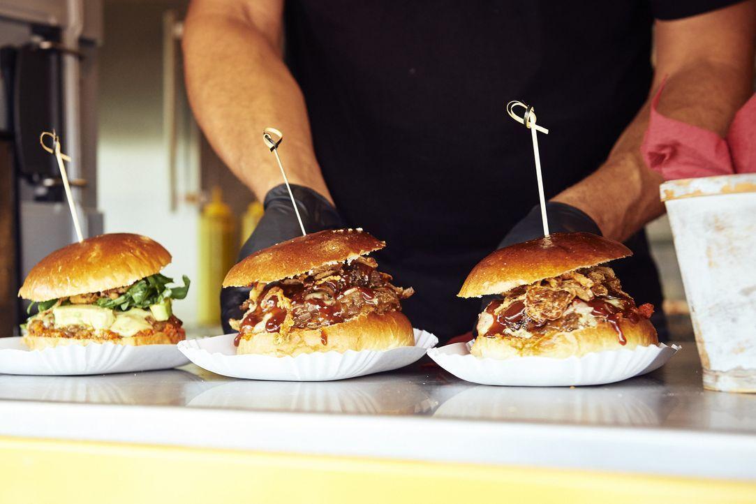 Auf dem kabel eins Foodtruck Festival gibt es für jeden das perfekte Gericht sofort auf die Hand ... - Bildquelle: Marco Nagel kabel eins