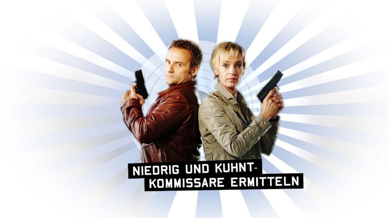 'Niedrig (Cornelia Niedrig, r.) und Kuhnt (Bernie Kuhnt, l.) - Kommissare ermitteln' ... - Bildquelle: ProSieben/SAT.1