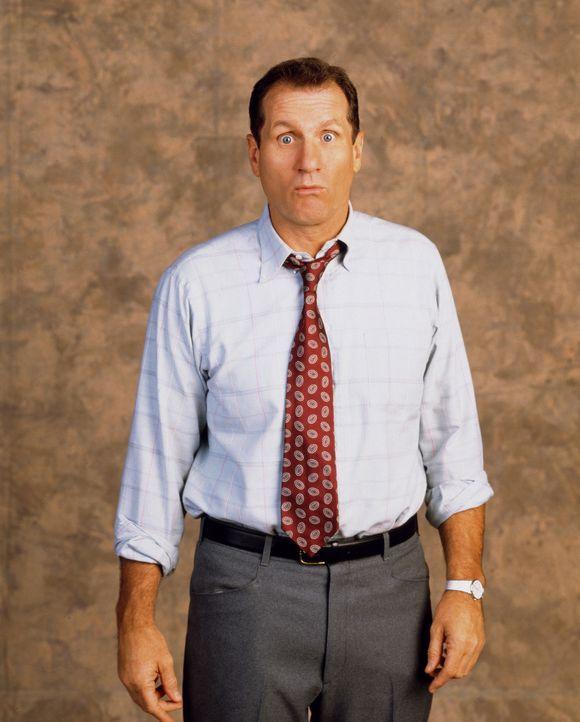 (11. Staffel) - Manchmal trifft das Schicksal Al Bundy (Ed O'Neil) mitten zwischen die Augen - oder eigentlich immer ... - Bildquelle: 1996, 1997 ELP Communications. All Rights Reserved.