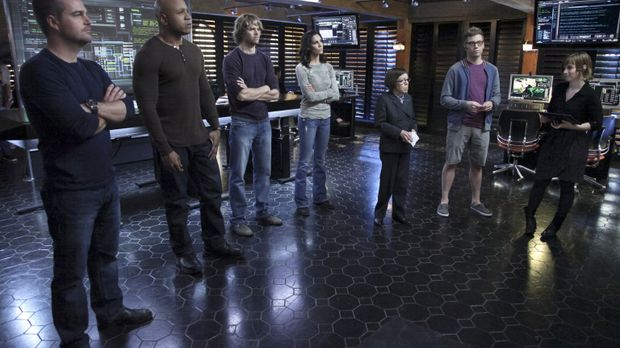 Ermitteln in einem neuen Fall: (v.l.n.r.) Callen (Chris O'Donnell), Sam (LL C...