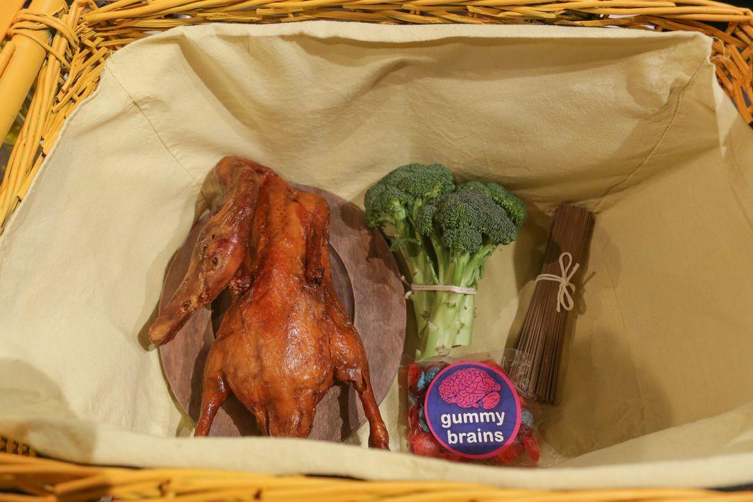 Pekingente und Kiwibeeren - Bildquelle: Susan Magnano 2016,Television Food Network, G.P. All Rights Reserved/Susan Magnano