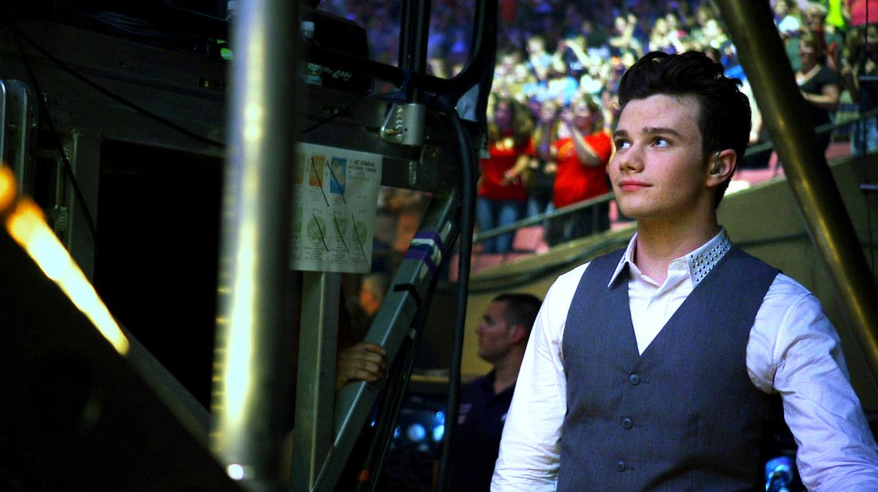 Kurt (Chris Colfer) erinnert sich ... - Bildquelle: TM and   2011 Twentieth Century Fox Film Corporation.  All rights reserved.
