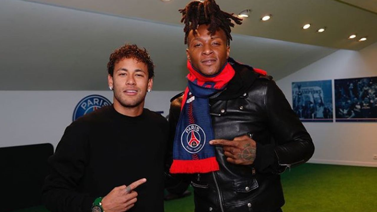 Hopkins und Neymar - Bildquelle: Instagram/deandrehopkins