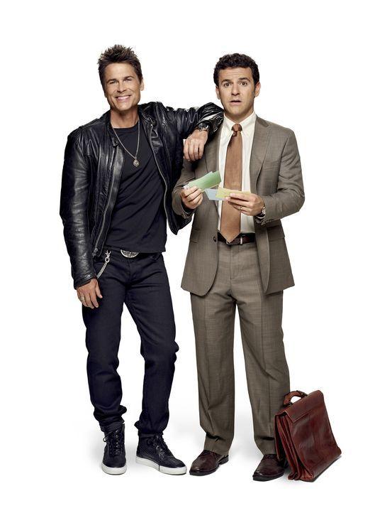 (1. Staffel) - Schauspieler Dean Sanderson (Rob Lowe, l.) kehrt in seinen kleinen Heimatort zurück, nachdem seine Anwaltsserie eingestellt wurde. Do... - Bildquelle: 2015-2016 Fox and its related entities.  All rights reserved.