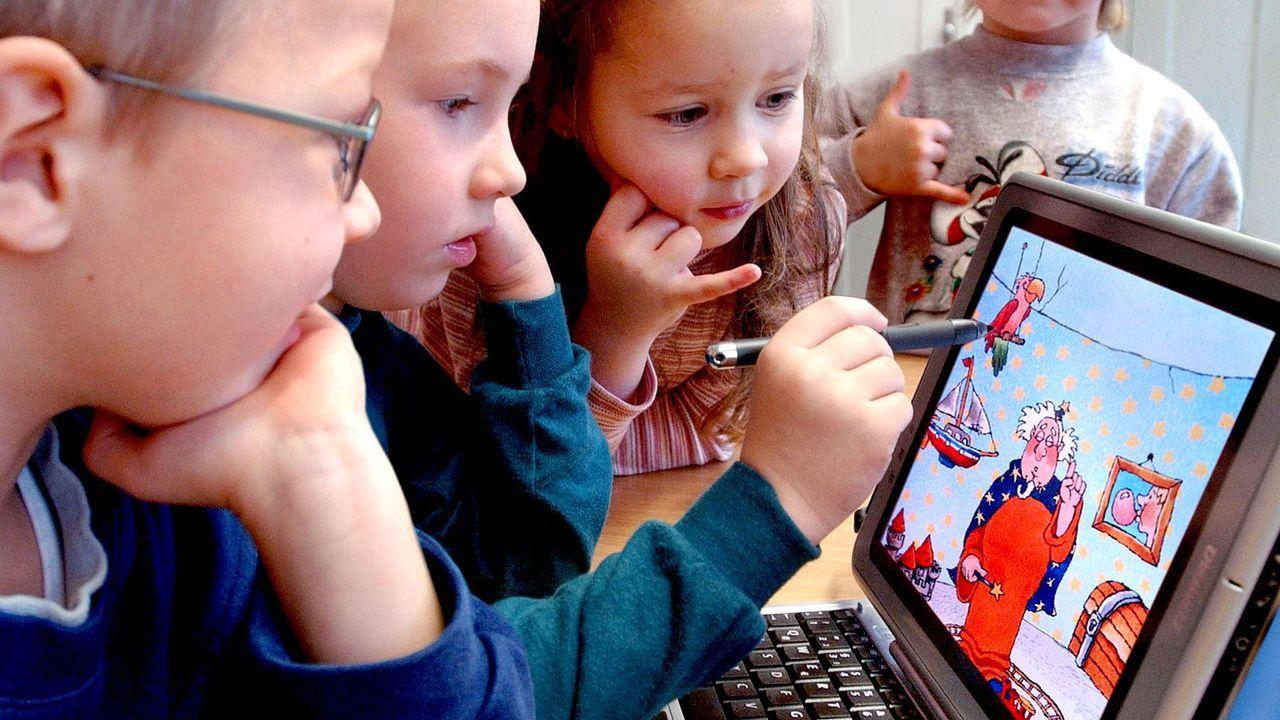 """Start für Bildungsinitiative """"Schlaumäuse"""" - Bildquelle: dpa"""