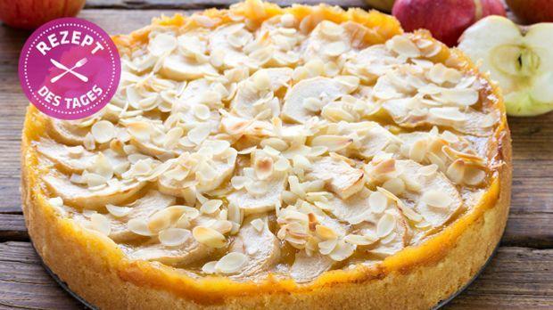 Rezept apfel marzipan kuchen for Kuchen zusammenstellen programm